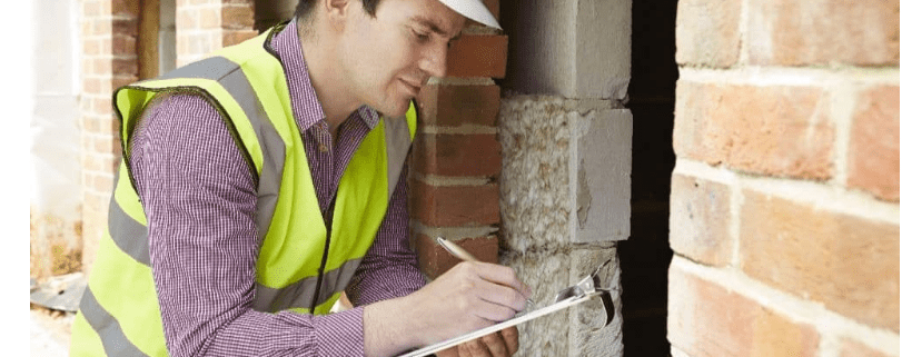 building inspections stock image