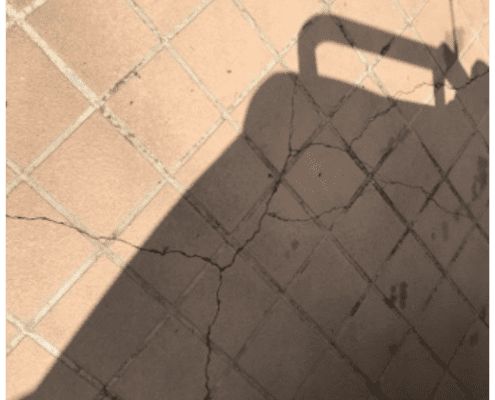cracks in settlement logan reserve