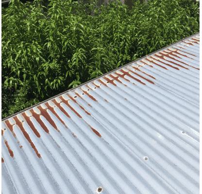 roof rust kenmore