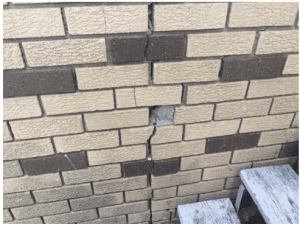 cracking in houses