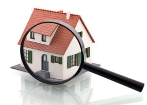 house inspection stock image