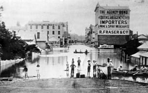 the brisbane flood of 1893