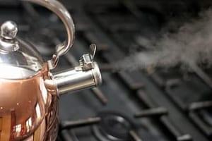 boiling water teapot