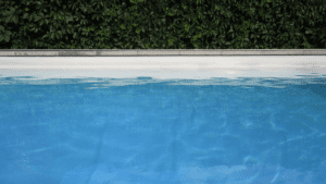 Water level in pool
