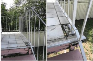 loose railing
