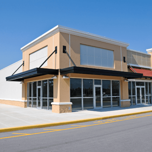 Shop building and pest inspection
