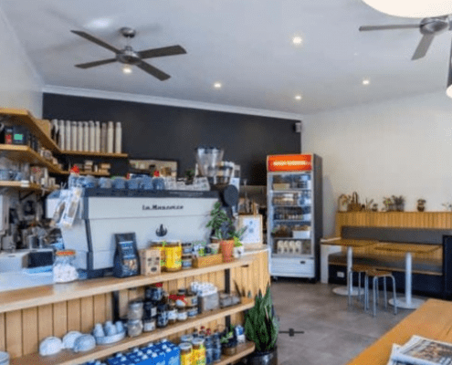 Cafe building and pest inspection