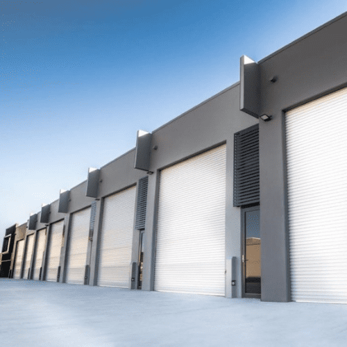 Warehouse building inspection